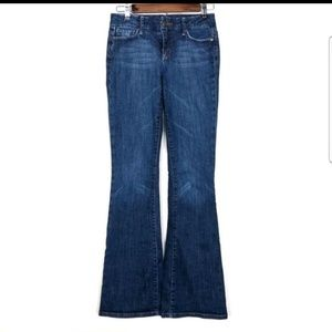 Joe's Jeans Vissionare Skinny Flare Leg Denim